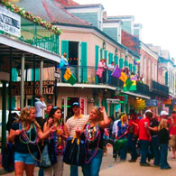 What's happening on Bourbon St?