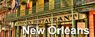 Family fun in the restaurants of New Orleans.