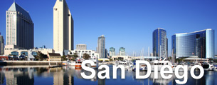 Cheap hotels in San Diego.